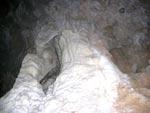Estalagmitas en la Cueva de la Mora